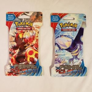 Pokemon XY Primal Clash Booster Packs